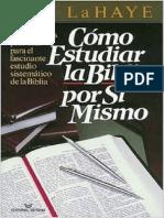 Como Estudiar La Biblia Por Si Mismo Tim LaHaye.pdf
