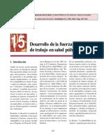 (2010) OPS. Desarrollo de La Fuerza de Trabajo en La Spublica