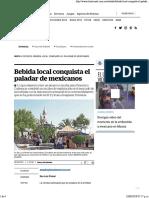 Bebida Local Conquista El Paladar de Mexicanos
