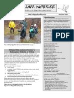 May-June 2009 Willapa Whistler Newsletter Willapa Hills Audubon Society
