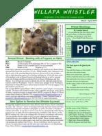 March-April 2010 Willapa Whistler Newsletter Willapa Hills Audubon Society