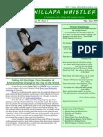 May-June 2010 Willapa Whistler Newsletter Willapa Hills Audubon Society