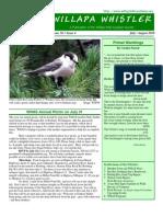 July-August 2010 Willapa Whistler Newsletter Willapa Hills Audubon Society