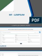 MF Lumpsum .pptx