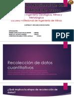 Recolección de Datos Cuantitativos