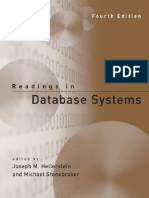 Joseph M. Hellerstein, Michael Stonebraker-Readings in Database Systems, 4th Edition-The MIT Press (2005)