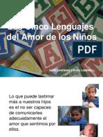 Lenguajes Del Amor Niños