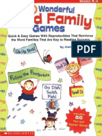 30 Wonderful Word Family Games