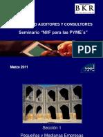 A.presentacion NIIF Pymes 2da. Sesion 17-03-11 (1)