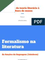 Bakhtin- Da Teoria Litera_ria A_ Cultura de Massa (1)