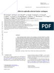 Modeling projection effects in optically-selected cluster catalogues