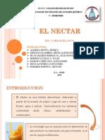 Elaboracion de Nectares en Analisis