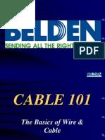 Belden Cable 101 Presentation