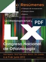 CD Resúmenes de Trabajos 2012