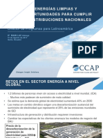 201708 La Ndc Dialogue Ecuador Gerardo Canales Ccap Avances Ergias Limpias Nuevas Oportun Cumplir Contrib Nacion
