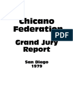 Chicano Federation Grand Jury Report (1979)