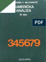Numericka Analiza III Deo