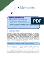 Motivation in management principle