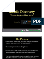 Mobile Discovery IMTS