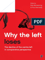 Why the Left Loses the Decline of the Centre-Left in Comparative Perspective