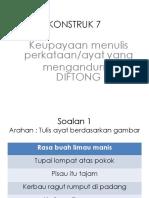 Menulis Konstruk 7