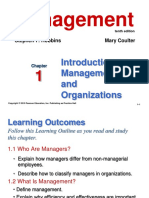 C-1 Introduction to Management and Organizations