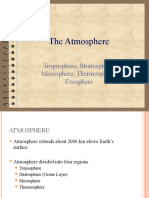 Atmosphere & Atmospheric Pollution