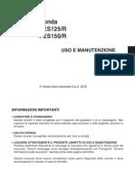 PS150-Manuale uso e manutenzione