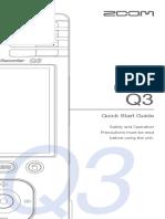 Zoom Q3 Manual