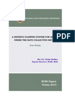 Thimi Hudhra - A Defence Planning System of Albania Under the NATO Collective Defence