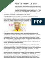 <h1>Melhores Agências De Modelos Do Brasil</h1>