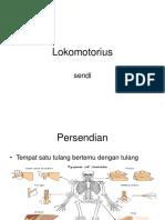 Lokomotorius -tulang-sendi