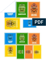 2 Pages of GKR Deck Box Labels