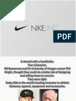 Global Iconic Brand - Nike