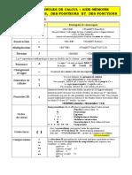 Fonctions Formules Excel