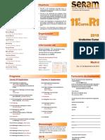 Undécimo Curso de Introducción a la Radiología para Residentes de primer año