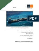Final safety investigation report (Transport Malta)