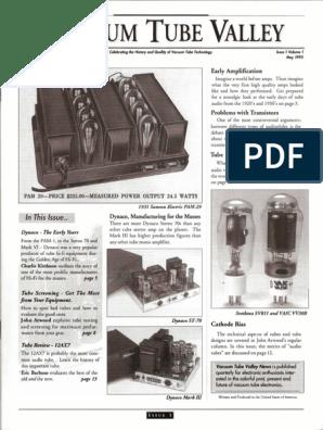 VTV01a | Amplifier | Vacuum Tube
