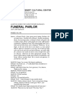 Funeral Parlor (Audition Sides)