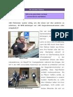 180 Polizisten Waren Noetig