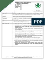 5.5.2.2 Sop Monitoring, Jadwal Dan Pelaksanaan Monitoring