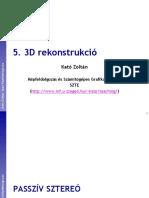 3D rekonstrukció