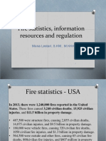 Fire Statistics and Regulations