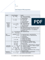 Brain Dump for PMP preparation.pdf