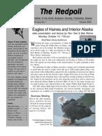 October 2005 Redpoll Newsletter Arctic Audubon Society