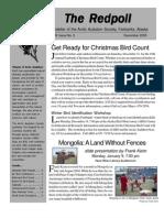 December 2005 Redpoll Newsletter Arctic Audubon Society