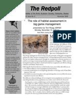 November 2006 Redpoll Newsletter Arctic Audubon Society