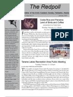 February 2007 Redpoll Newsletter Arctic Audubon Society