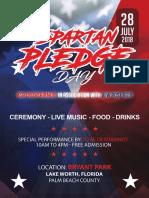 Spartan Pledge Day