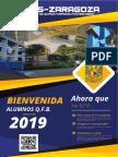 Bienvenida alumnos de QFB generación 2019